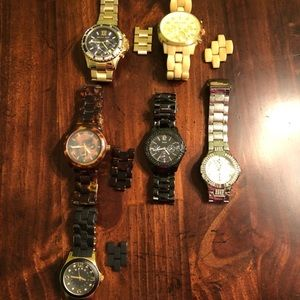 Michael Kors, Guess and Marc Jacob watches